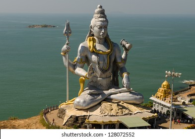 World's second tallest statue of Lord Shiva, India