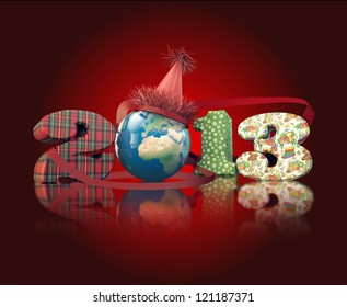Worldwide party in new year eve