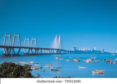 worli sea link, mumbai
