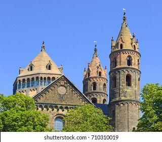 Worms - St. Peter's Cathedral (Worms Cathedral). Worms is home to one of the three great imperial cathedrals on the Upper Rhine. Worms is one the oldest cities in Germany.