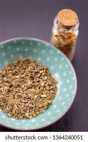 wormwood herb detail background healing herbs