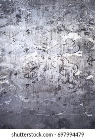 Worn metal plate steel background.