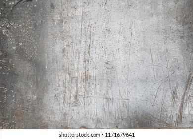 Worn metal sheet floor texture background