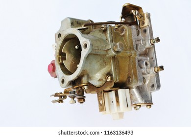 Worn out carburetor from the fuel supply system of gasoline engine