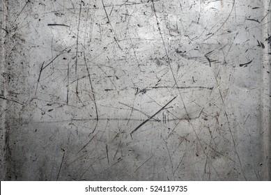 Worn scratched metal texture