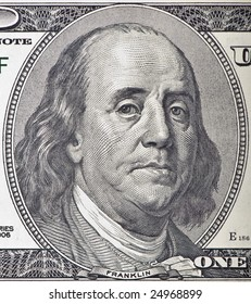 A worried Ben Franklin