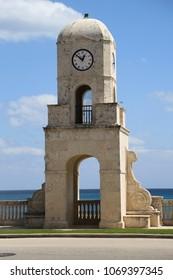 Worth Avenue Clock Tower in Beach Florida