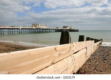 Worthing beach, West Sussex, UK