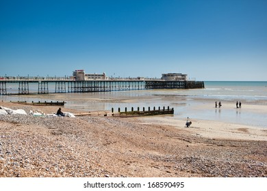 Worthing beach, West Sussex, United Kingdom