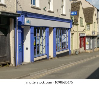 Wotton-under-Edge, England - May 10, 2018: TSB Bank on Long Street A, local bank branch