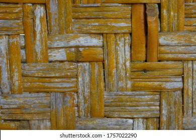 anyaman bambu images stock photos vectors shutterstock https www shutterstock com image photo woven bamboo anyaman bambu texture art 1757022290