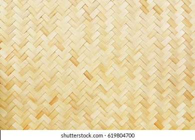 it is woven bamboo texture for background and design.