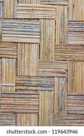 woven bamboo thai style
