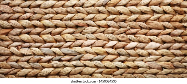 woven basket texture may used as background