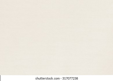 Woven cotton linen fabrics textile textured background in light cream beige color tone