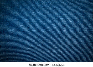 woven fabric texture background. blue jean pattern