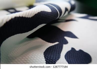 Woven Jacquard Cotton Fabric Printed