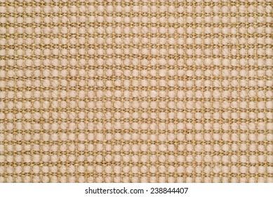 Woven Sisal & Wool Rug Background