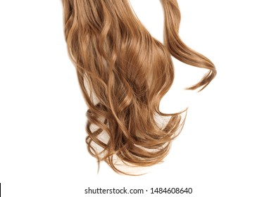 wrap round clip in wavy auburn synthetic ponytail hair extension