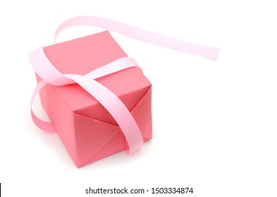 A wrapped gift box in day