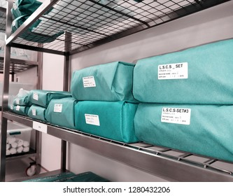 Wrapped Sterile Sets. Wrapped Sterile Instruments.