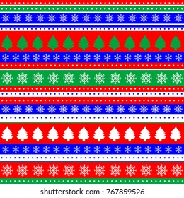 Wrapping paper seamless pattern for Christmas gift