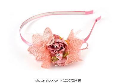 SMALL RED SKULLS /& ROSES SPARKLE ANEMONE CLIP SKULL HAIR FLOWER CLIP