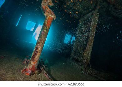 Wreck of a Cargo Ship, Abu Nuhas, Egypt