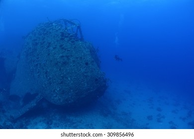 Wreck of the Chrisoula K in the Red Sea, Egypt