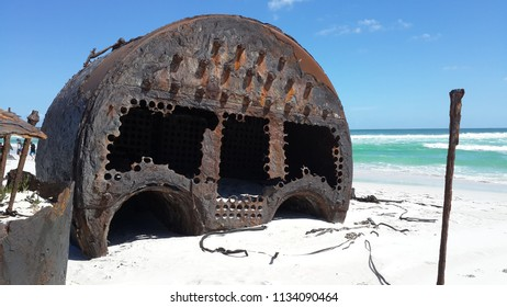 Wreck Of The Kakapo, Kommetjie, Cape Town