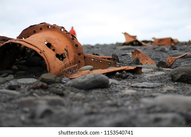wreck on the shore
