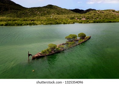 Wreck of the S.S. City of Adelaide, laying off Magnetic Island, Townsville, Queensland, Australia.