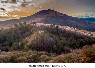 The wrekin hill in Shropshire