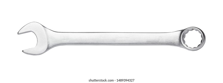 Wrench isolated on white background, hand tool