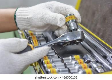 Wrench Set Blog Tool