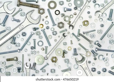 Wrenches, bolts, nuts, screws and washers