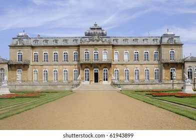 Wrest Park architecture in summer