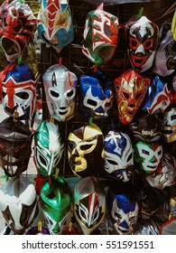 Wrestling masks from Mexico