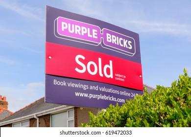 Boarding house images stock photos vectors shutterstock wrexham uk april 11 2017 purple bricks group plc estate agents sold sign the malvernweather Images