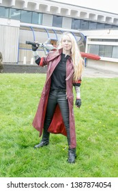 Wrexham, Wales - April 28th, 2019: Wales Comic Con - Unknown Cosplayer