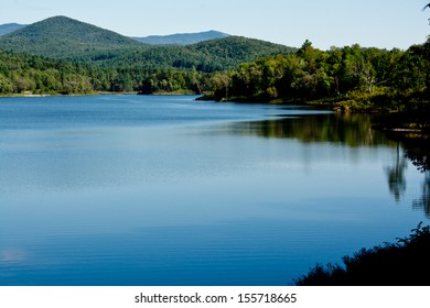 Wrightsville Reservoir is a popular recreational area for swimming and boating in Middlesex, Vermont.