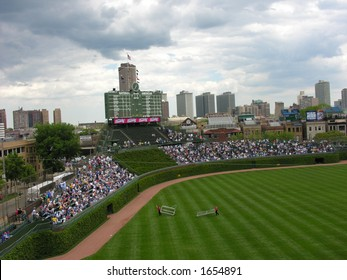wrigley field bleachers