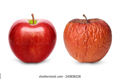 crack apple in half with bare hands