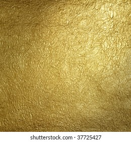 Wrinkled gold surface pattern