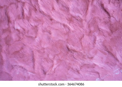 wrinkled old vintage red wall background