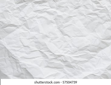wrinkled paper for background