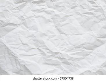 wrinkled paper for background