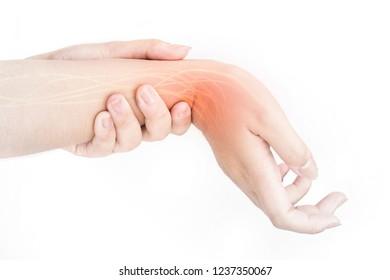 wrist nerve injury