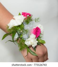 Wrist Rose Corsage