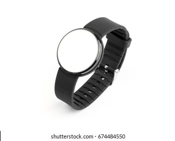 Wristwatch with mirror dial